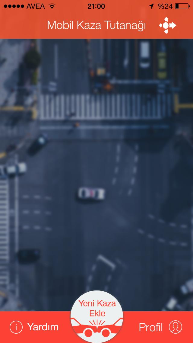 mobil kaza tespit tutanağı